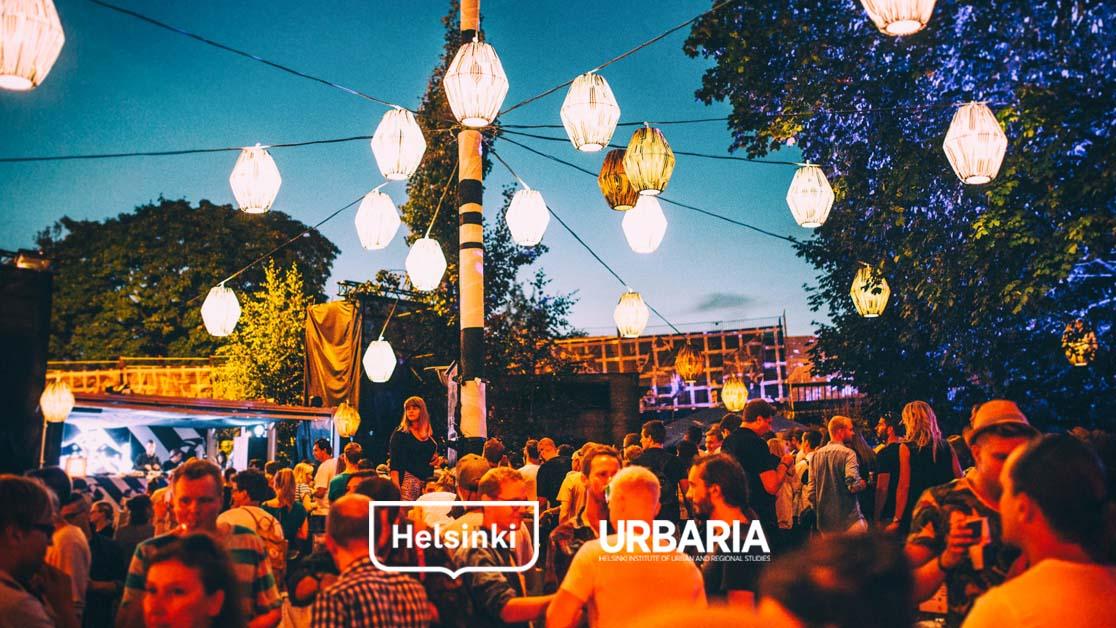 Valoa yössä: näkökulmia Helsingin yöhön