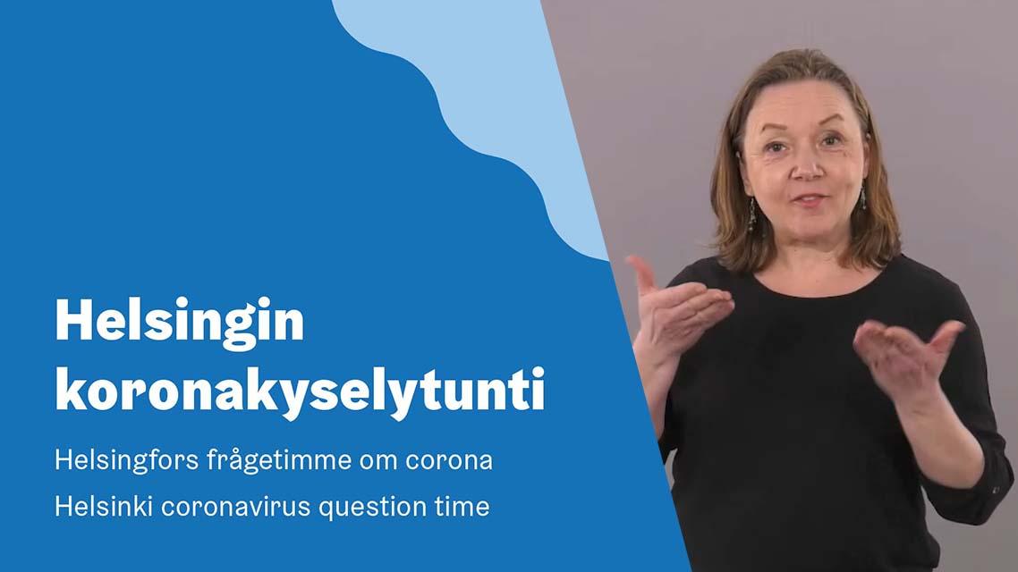 Helsingin koronakyselytunti