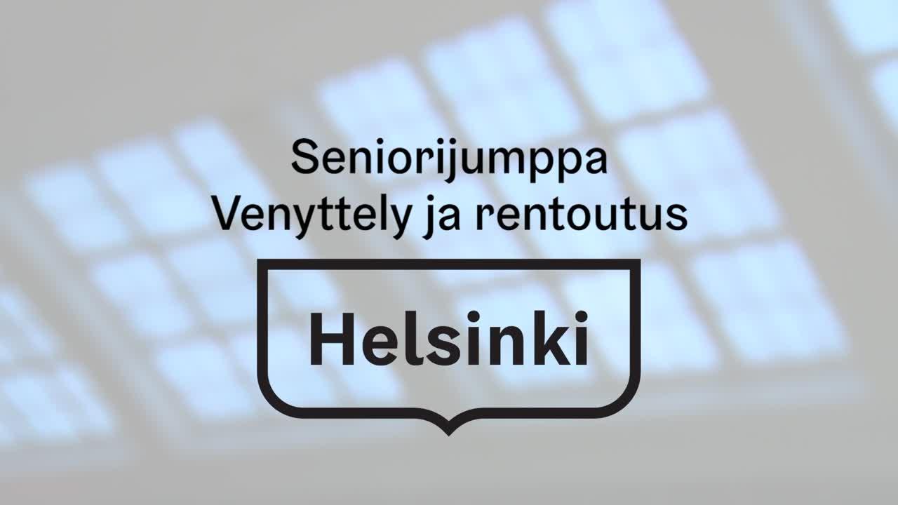 Seniorijumppa - Jakso 31 - Venyttely ja rentoutus