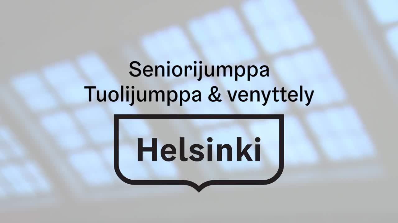 Seniorijumppa - Jakso 36 - Tuolijumppa & venyttely