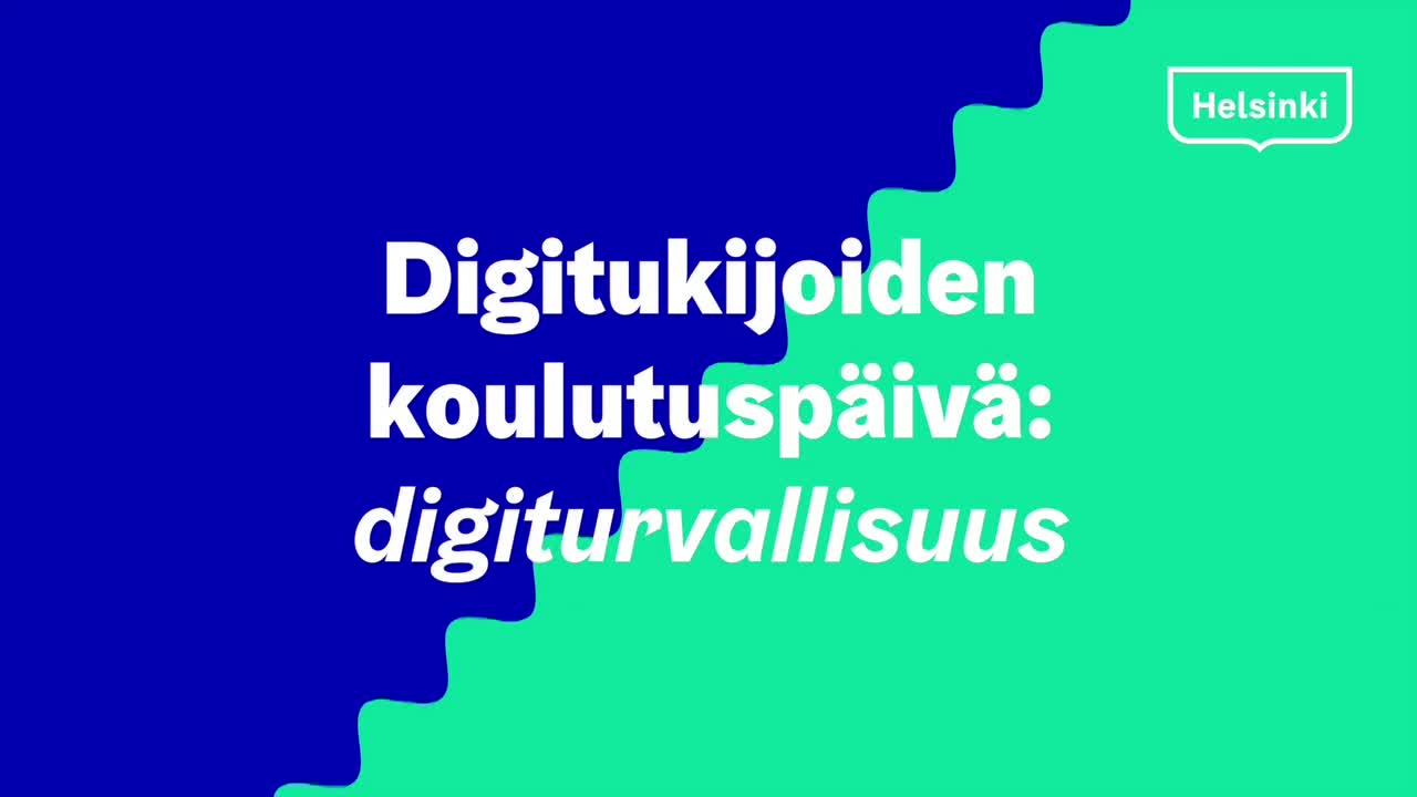 Digiturvaa digitukijoille
