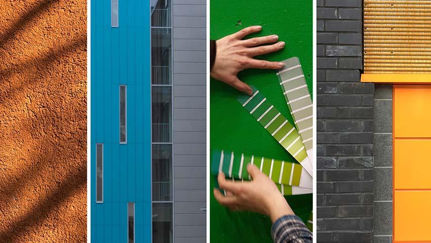 Kuka suunnittelee arkkitehtuurin värit?