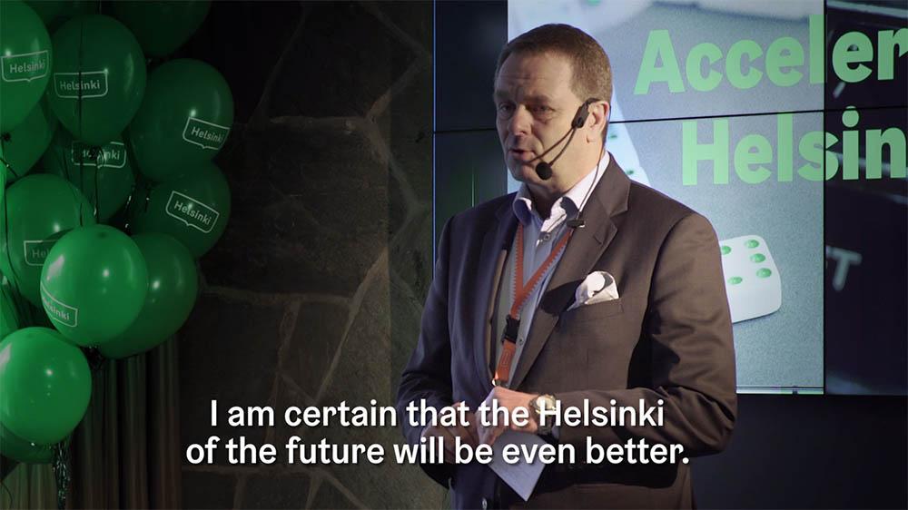 Accelerate Helsinki - Kansainvälisempi Helsinki yhdessä, päivä päivältä parantaen