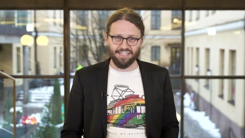 Valtuuston uusi puheenjohtaja on Otso Kivekäs