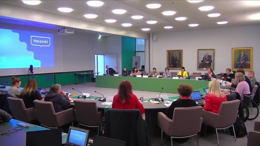 Helsingin kaupungin vammaisneuvoston kokous 14.2.2019