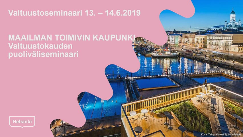 Kaupunginvaltuuston seminaari 13.6.2019