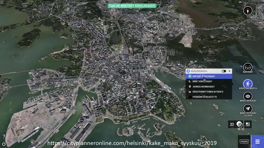 Kävelykeskustan laajentaminen ja maanalainen kokoojakatu