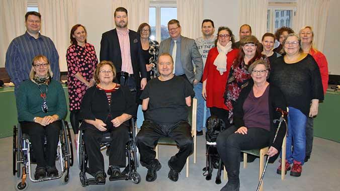 Vammaisten helsinkiläisten osallisuus ja palvelut 5.11.2019
