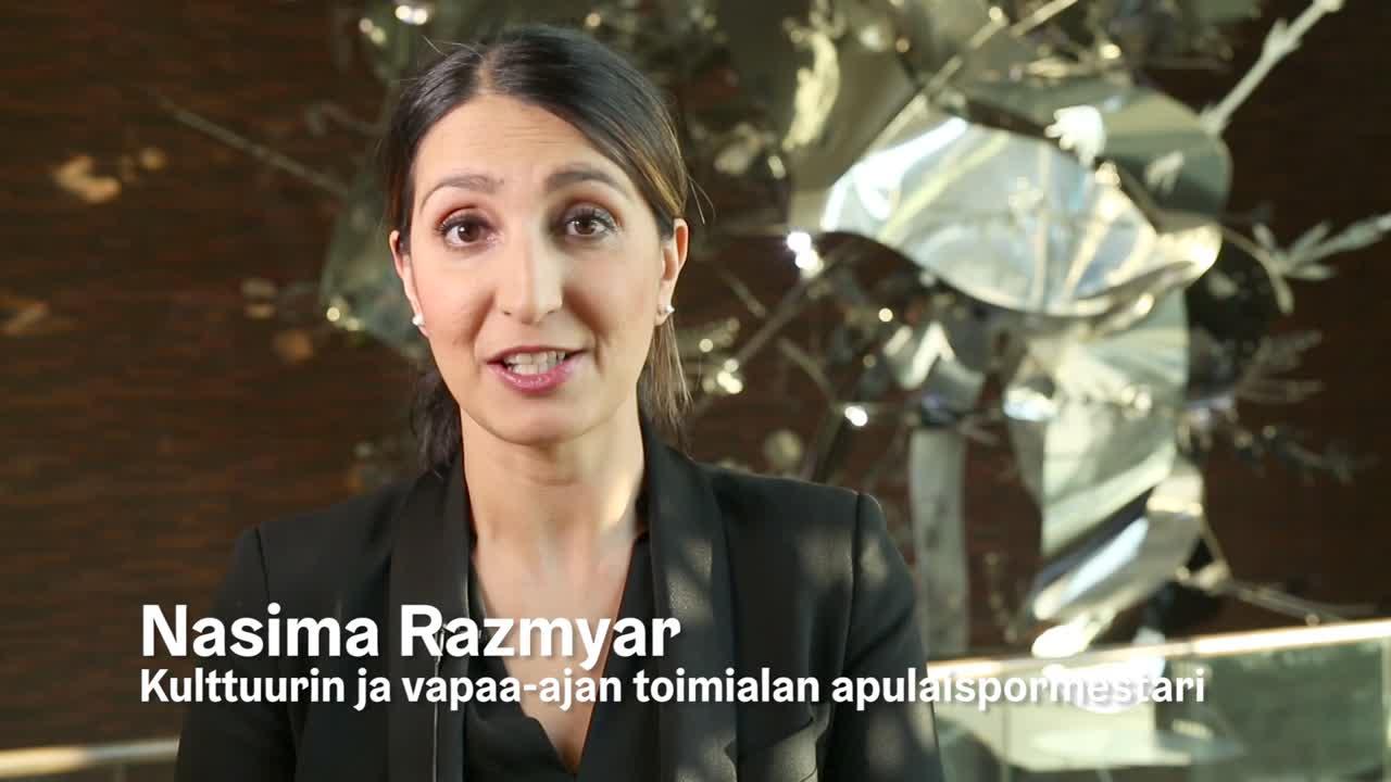 Nasima Razmyar kertoo Kulttuurin kummilapsista