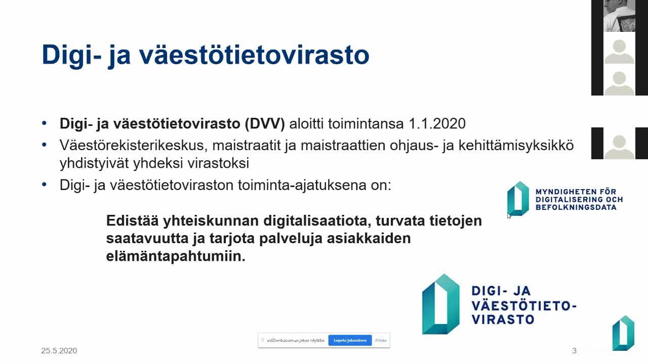 Valtuuttaminen Suomi.fi palvelussa