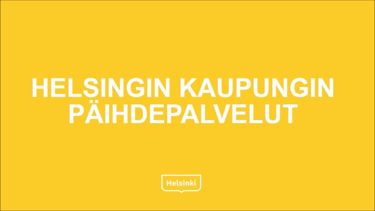 Helsingin kaupungin päihdepalvelut