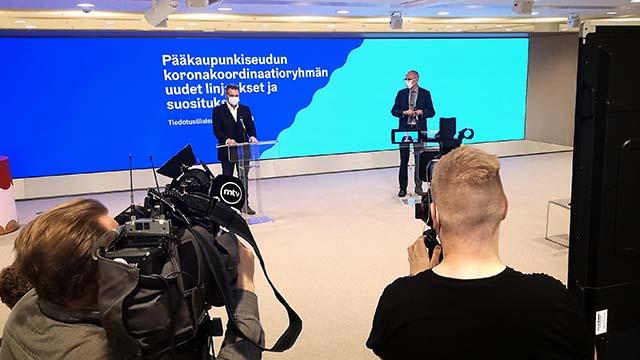 Pääkaupunkiseudun koronakoordinaatioryhmän uudet linjaukset ja suositukset 14.10.2020