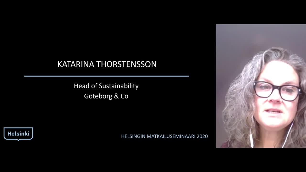 Helsingin matkailuseminaari 2020 Benchmark: Göteborg & co