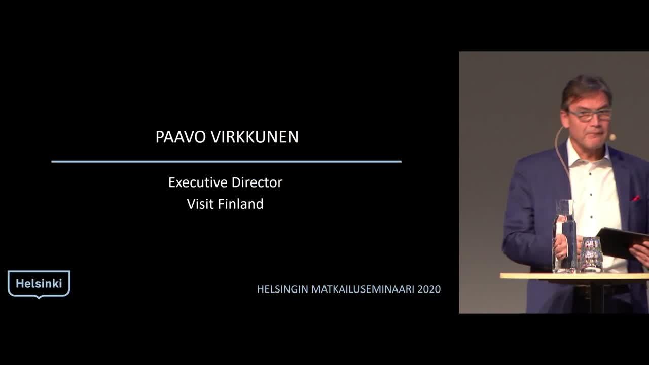 Helsingin matkailuseminaari 2020 Visit Finland kuulumiset