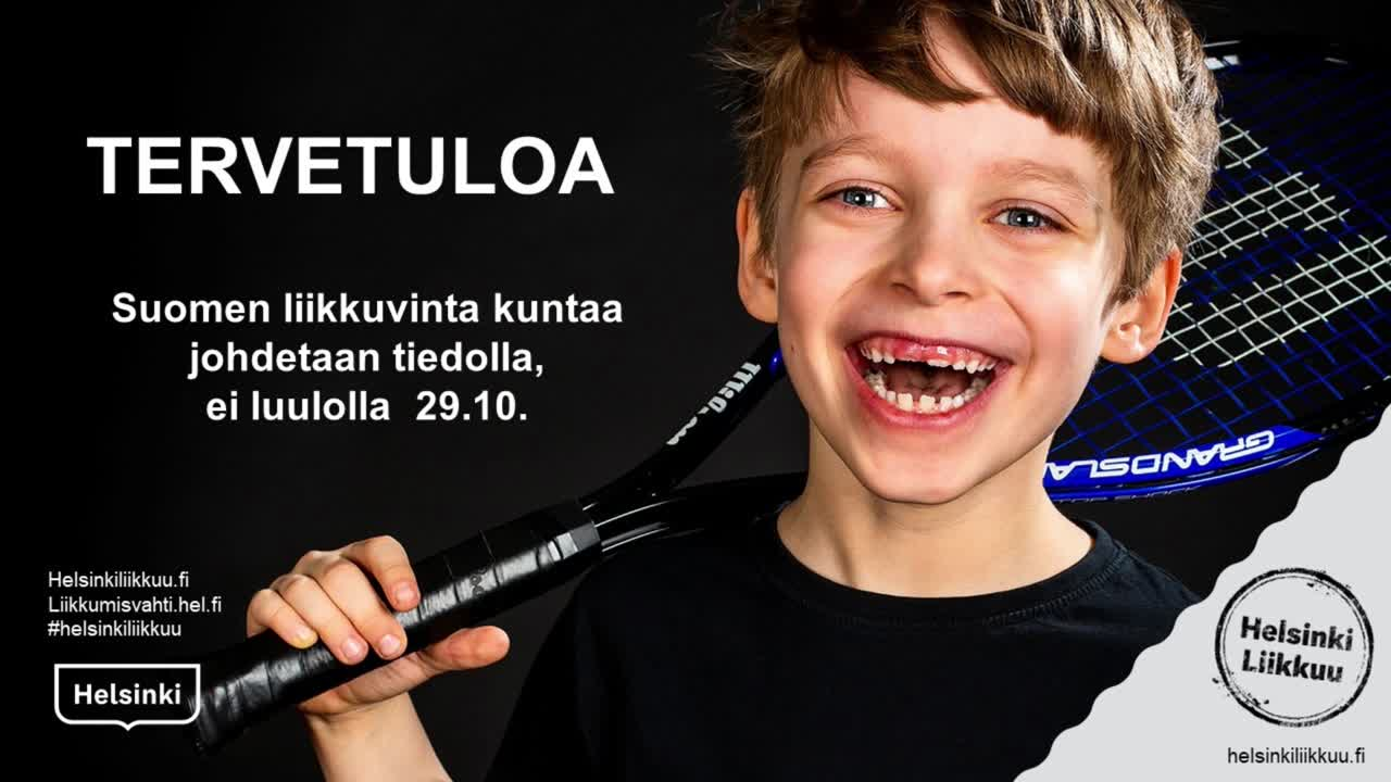 Suomen liikkuvinta kuntaa johdetaan tiedolla, ei luulolla - seminaari