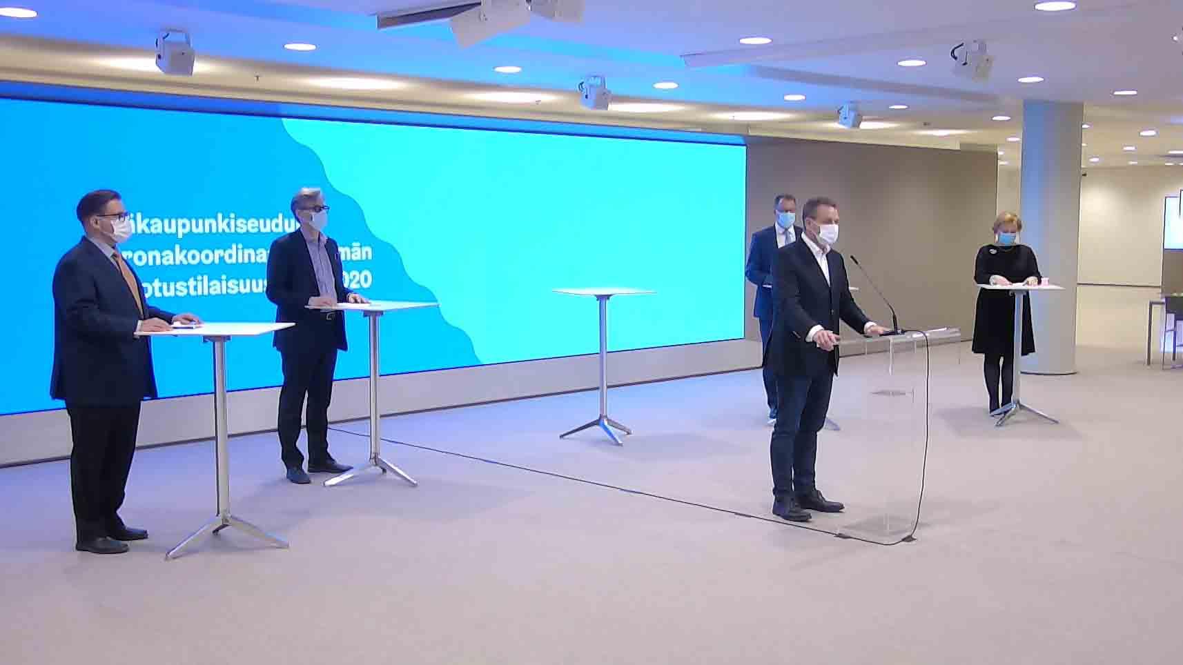 PK-seudun koronakoordinaatioryhmän tiedotustilaisuus 27.11.2020
