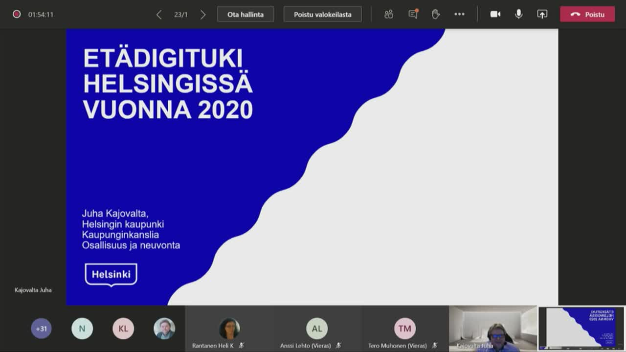 Etädigituki Helsingissä 2020