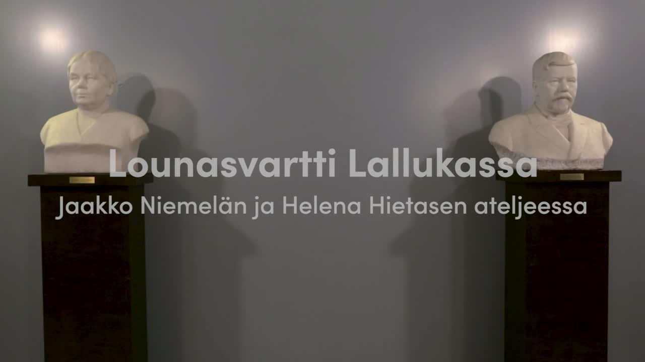 Lounasvartti Lallukassa -Jaakko Niemelä ja Helena Hietanen
