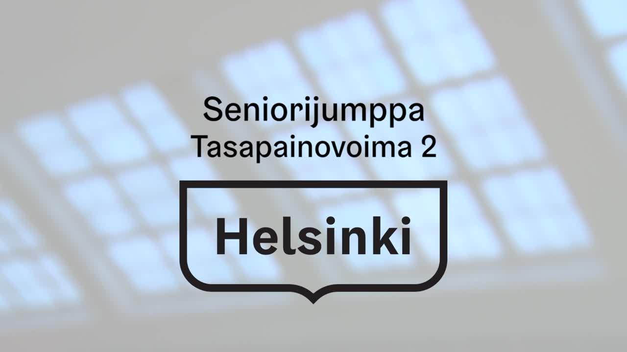 Seniorijumppa - Jakso 13 - Tasapaino & voima 2