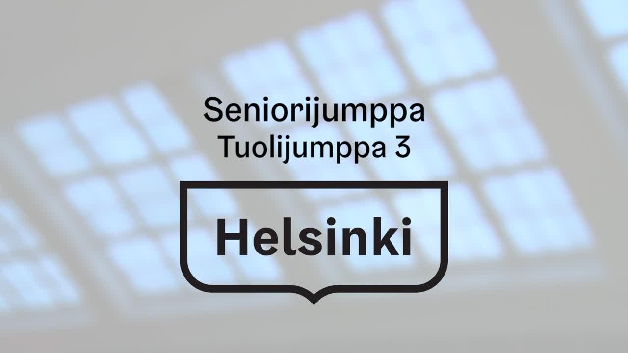 Seniorijumppa - Jakso 20 - Tuolijumppa 3